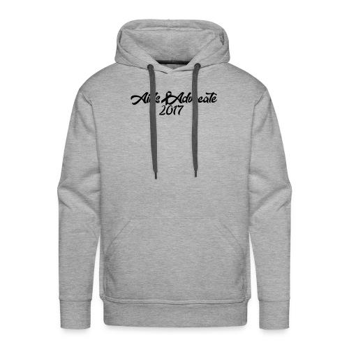 Aids Advocate logo - Men's Premium Hoodie