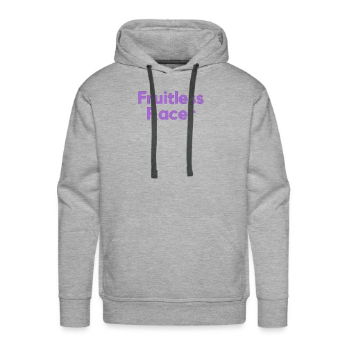 The Original Fruitless Racer Text Merch - Men's Premium Hoodie