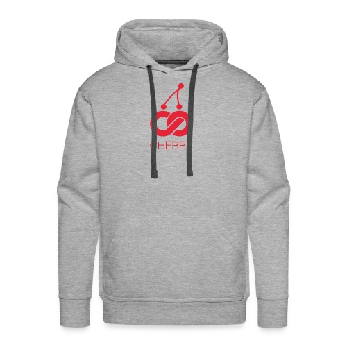 Cherry Red Logo - Men's Premium Hoodie