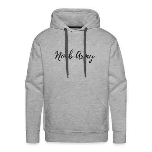 Noob Army (No Symbol) - Men's Premium Hoodie