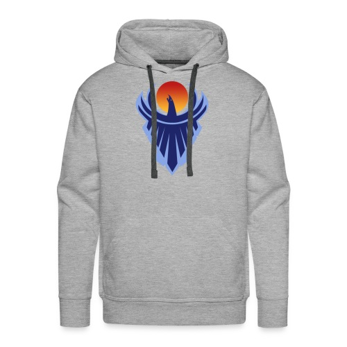 the bird - Men's Premium Hoodie