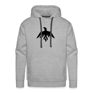 Black INTZ Logo - Men's Premium Hoodie