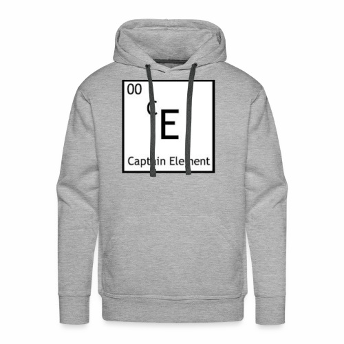 Captain Element Logo - Men's Premium Hoodie