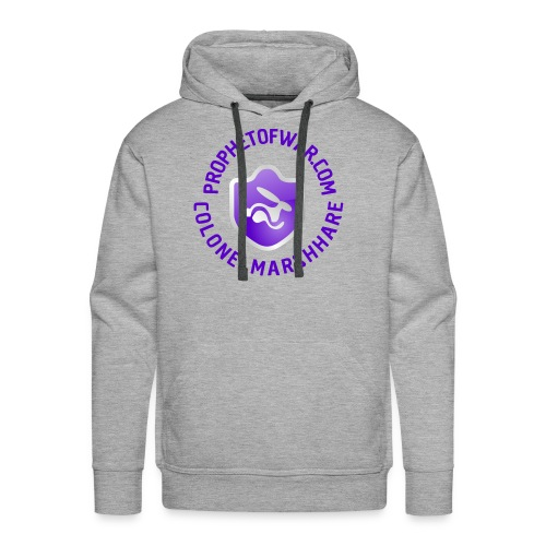MarshHare logo - Men's Premium Hoodie