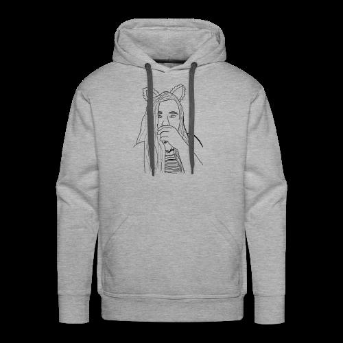 Ekcat Sketch Collection - Men's Premium Hoodie
