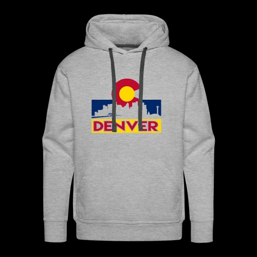 Denver, Colorado - Men's Premium Hoodie