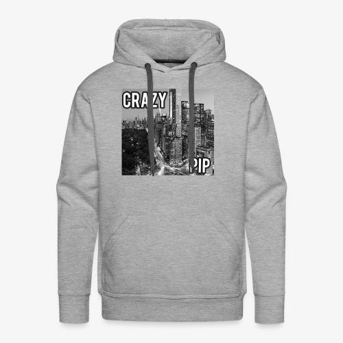 Crazypip in New York hoodie - Men's Premium Hoodie