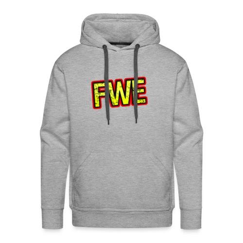 FWE Wrestling Logo - Men's Premium Hoodie