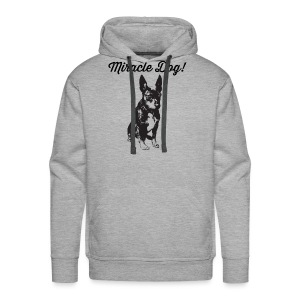 miracle dog - Men's Premium Hoodie