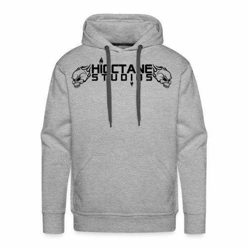 HiOctane Black Skull Logo - Men's Premium Hoodie