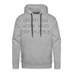 Dream Big - Men's Premium Hoodie