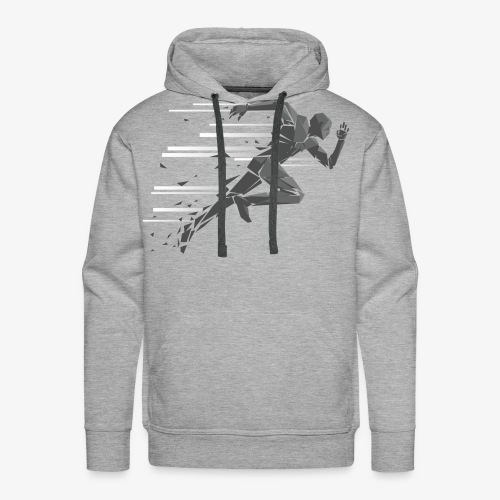 Just Keep Running - Men's Premium Hoodie