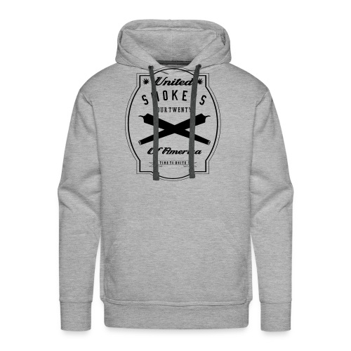United Smokers of America - Men's Premium Hoodie