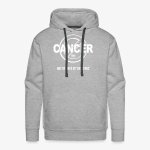 Cancer - Not Defined by the Stars - Men's Premium Hoodie