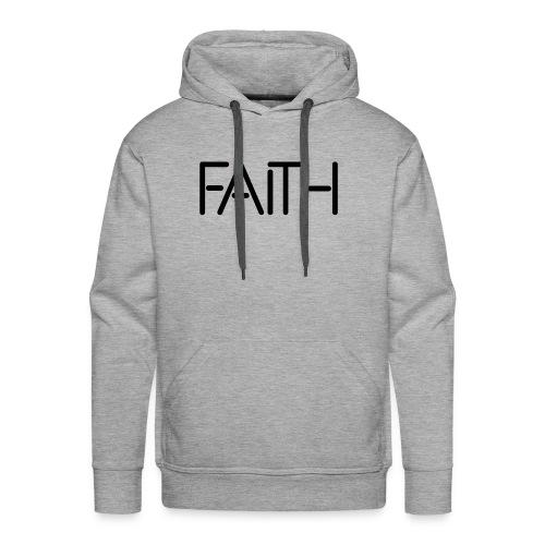 Faith tshirt - Men's Premium Hoodie
