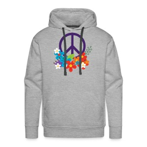 Hippie Peace Design - Men's Premium Hoodie