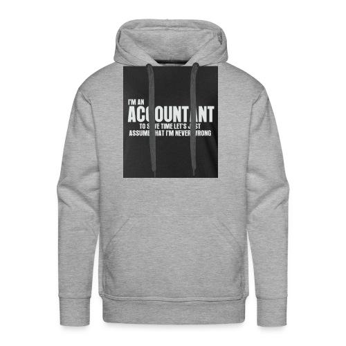 accountant - Men's Premium Hoodie
