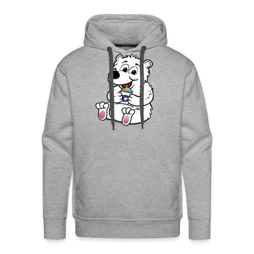 Bear right RGB300 - Men's Premium Hoodie
