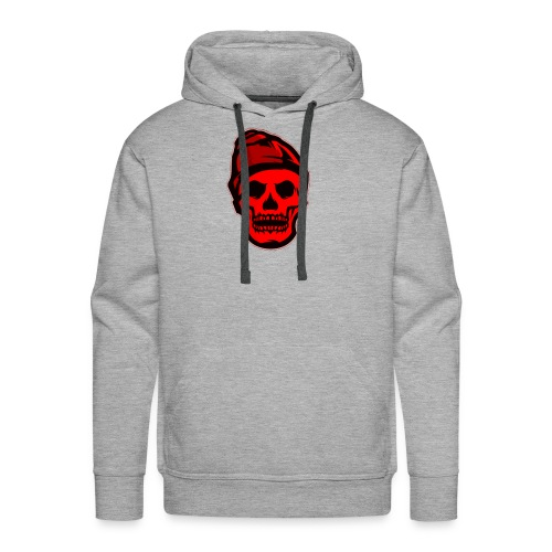 RED Skeleton HaHaHaHa - Men's Premium Hoodie