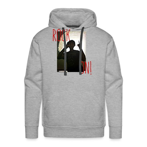 Rock On - Men's Premium Hoodie