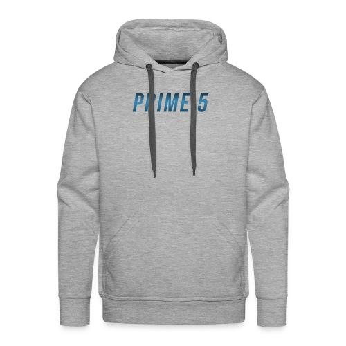 Prime 5 Text Logo - Men's Premium Hoodie