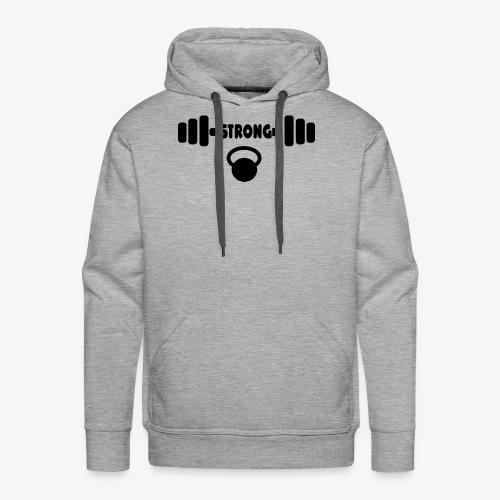 Strong - Men's Premium Hoodie