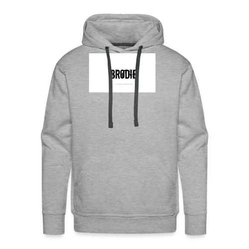tattoo design name brodie 06 - Men's Premium Hoodie