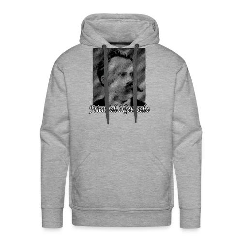 Friedrich Nietzsche German Philosopher - Men's Premium Hoodie