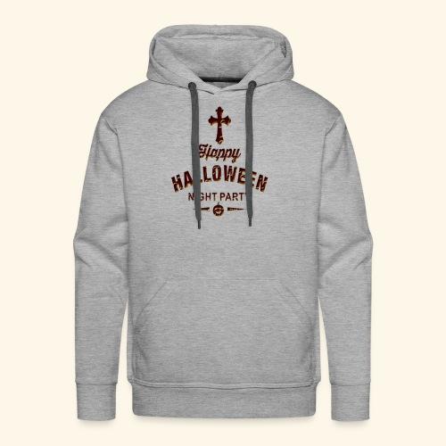 happy hallowen day ,Halloween night party - Men's Premium Hoodie