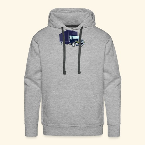 Truck Driver T Shirt Delivery - Men's Premium Hoodie
