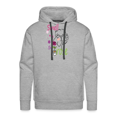smell the rose - Men's Premium Hoodie