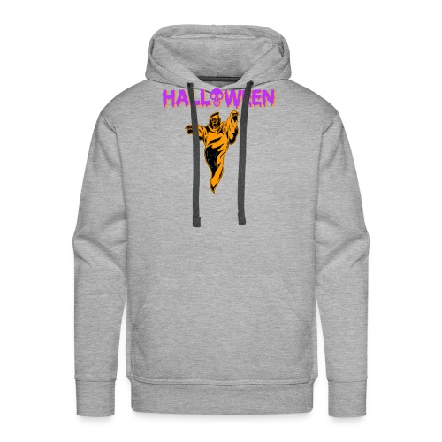 Halloween Cute Ghost Holiday T shirt - Men's Premium Hoodie
