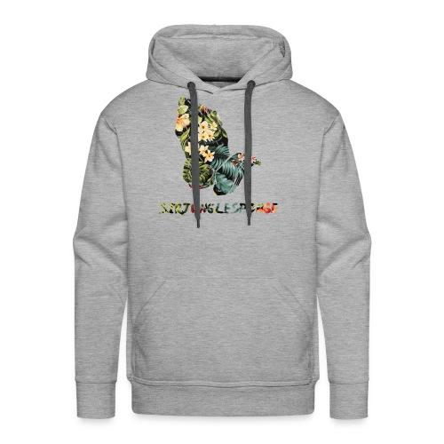 sirjunglesponge floral - Men's Premium Hoodie