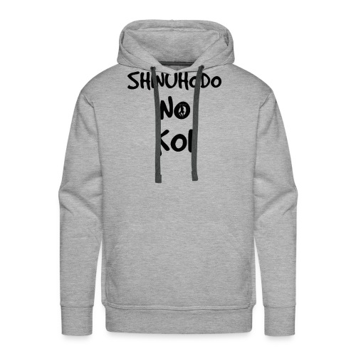 Shinuhodo No Koi (Black lettering) - Men's Premium Hoodie