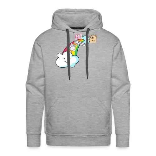Unicorn Birthday, Unicorn Gift, Birthday Outfit - Men's Premium Hoodie