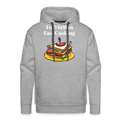 TosTinMan Sandwich - Men's Premium Hoodie