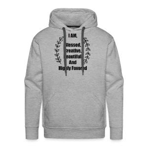 I AM Blessed T-shirt - Men's Premium Hoodie