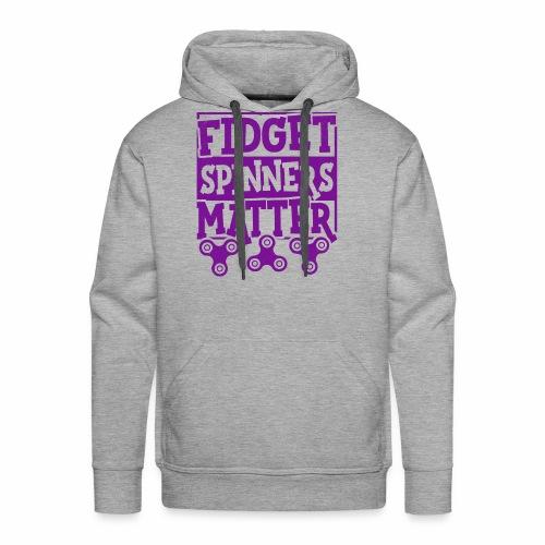 Fidget Spinners' Design - Men's Premium Hoodie