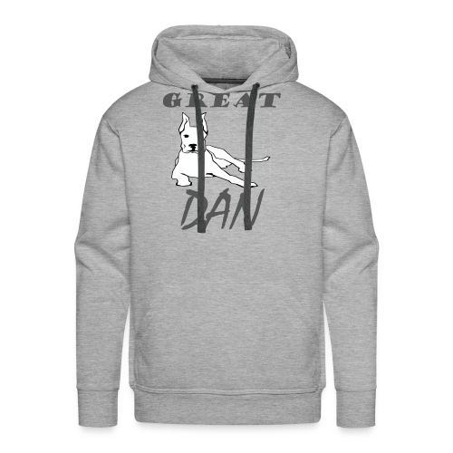 Great Dan Dog Funny Shirt For Dog Lover - Men's Premium Hoodie