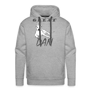 Great Dan Dog Funny Shirt For Dog Lover - Men's Premium Hoodie