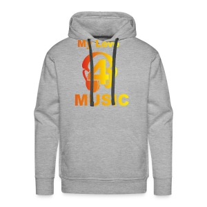 Blackprince LOVE FOR MUSIC - Men's Premium Hoodie