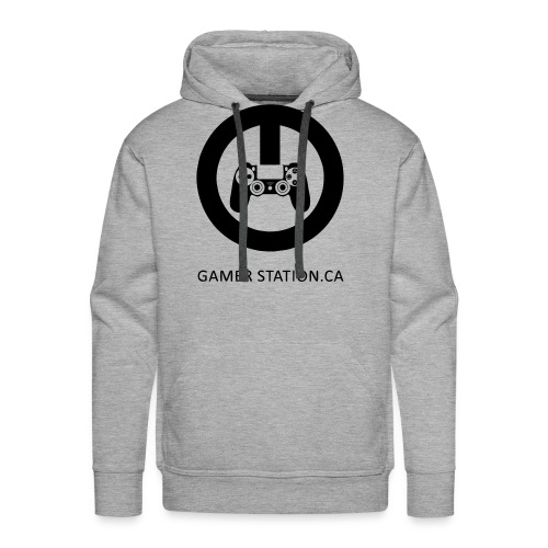 GamerStation.ca logo - Men's Premium Hoodie