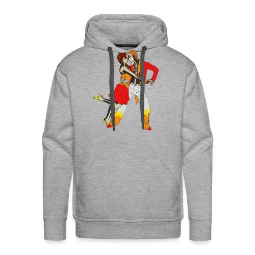 Calaveras Dancing - Men's Premium Hoodie