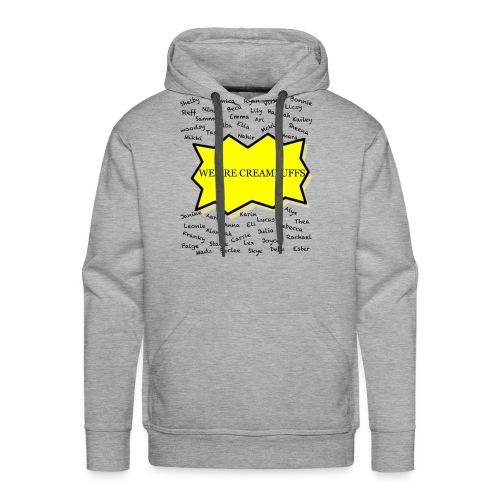Creampuff Awareness - Men's Premium Hoodie