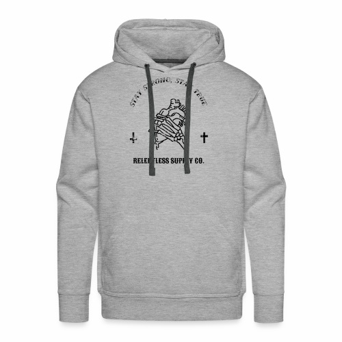 Stay True, Stay Strong - Men's Premium Hoodie