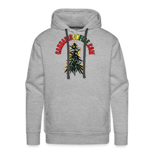 Cannabis On Fire T-Shirt 420 Cannabis Wear 2017 - Men's Premium Hoodie