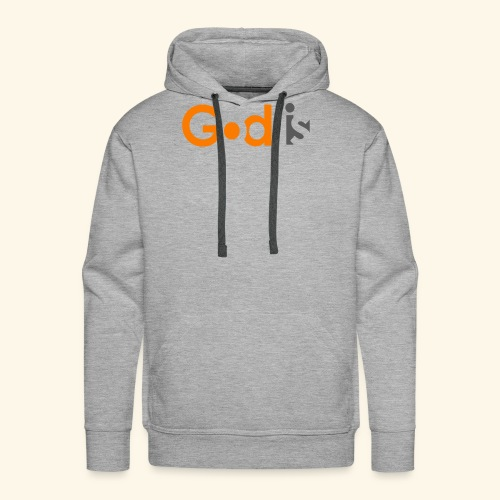 GOD IS #6 - Men's Premium Hoodie