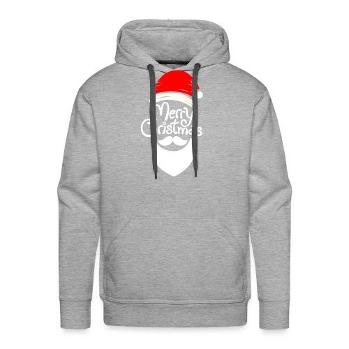 Merry Christmas Santa hat - Men's Premium Hoodie