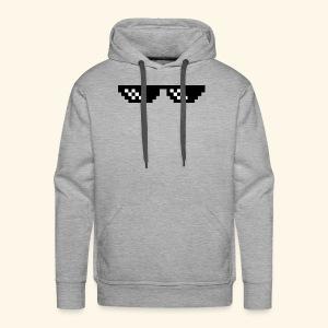 Deal With It Sunglasses- cool - Men's Premium Hoodie