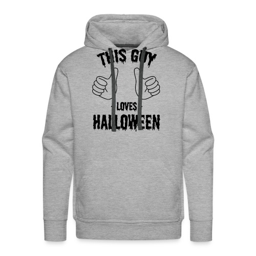 This Guy Loves to Party on Halloween - Men's Premium Hoodie